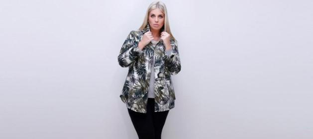 Marcia Saad, que é modelo há três anos, desfila para o Fashion Weekend Plus Size e para o Mega Polo Moda