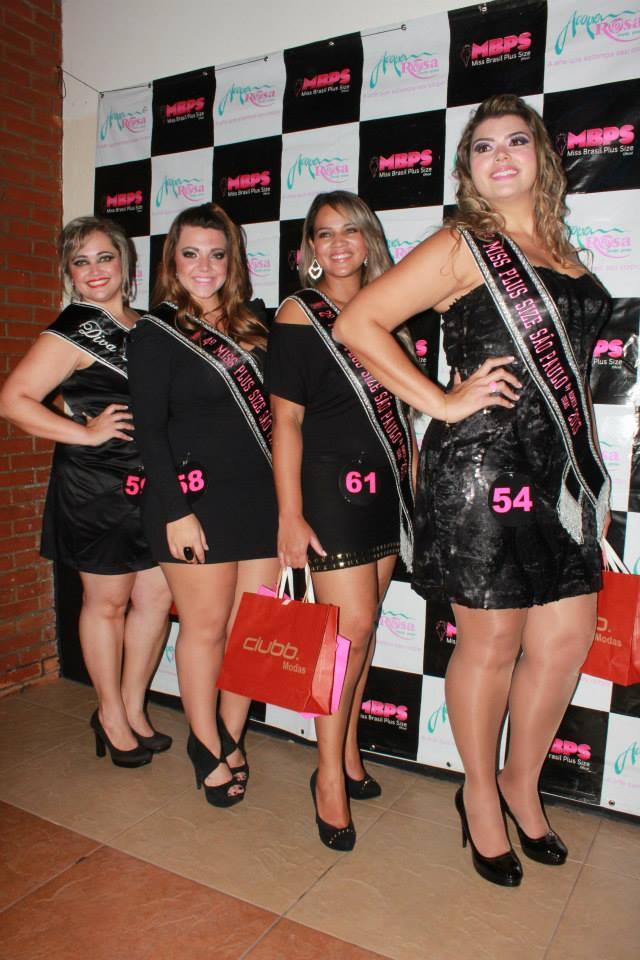 As quatro finalistas também disputarão o título de Miss Plus Size Brasil Oficial, ainda sem data marcada (Foto: Amanda Pinson)