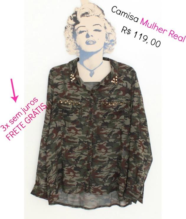 camisa militar tamanho 44 GG-845x1000