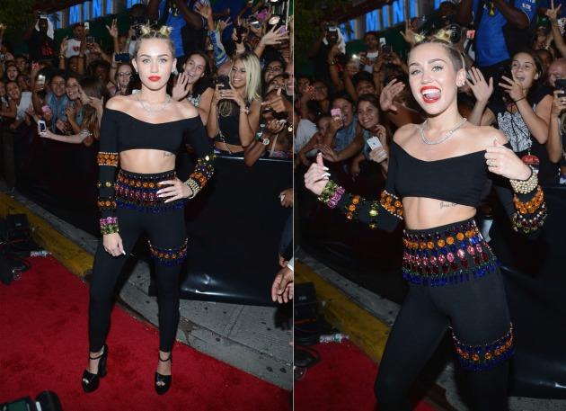Miley Cyrus de Dolce & Gabbana