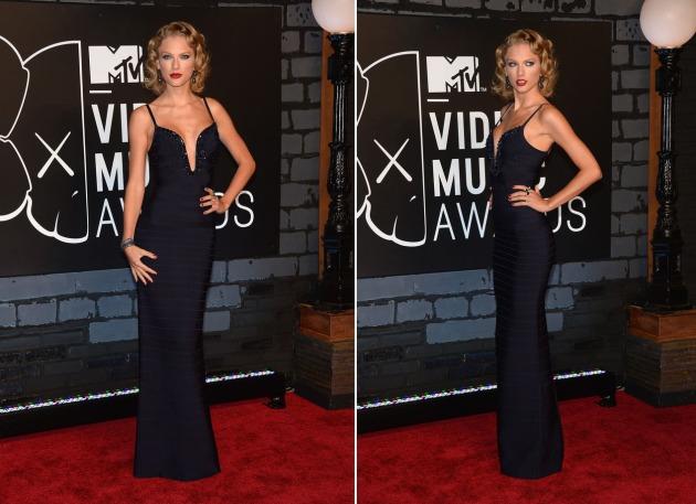 Taylor Swift de Herve Leger (Foto: Reprodução)