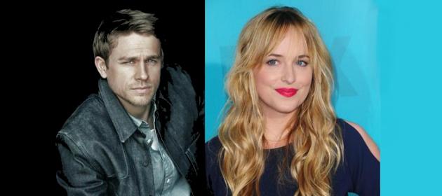 """Dakota Johnson e Charlie Hunnam serão os protagonista de """"50 tons de cinza"""" (Foto: Divulgação)"""